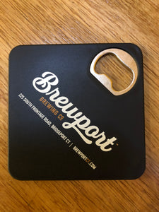Coaster-Bottle Opener