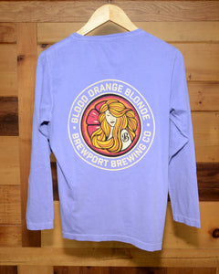 Blood Orange Blonde Long Sleeve Purple
