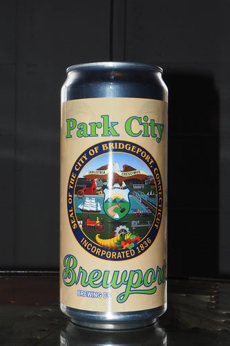 Barrett Bros. Brown Ale Park City Crowler