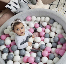Pink, White and Grey Balls