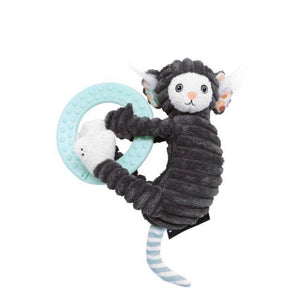 Les Deglingos- Teething Ring Plush Kézakos the Marmoset