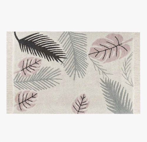 Lorena Canal- Tropical Pink Rug