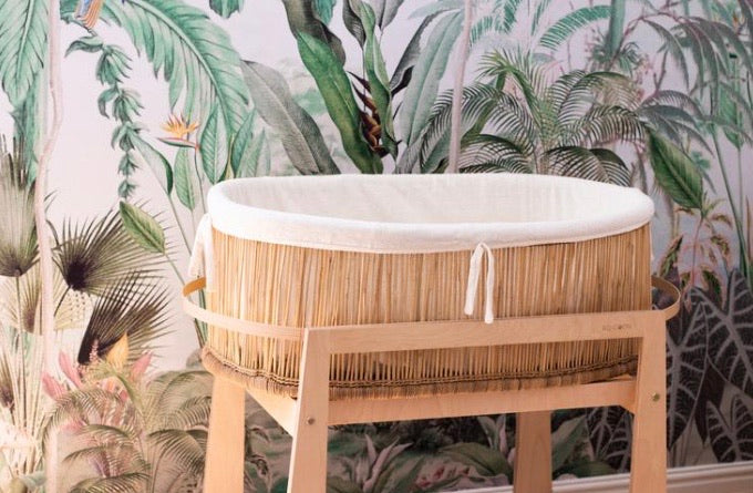 Moses basket KO-COON Ethereal bamboo collection - Zen (2 weeks dispatch lead time)