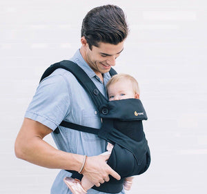 Ergo Baby All Position 360 Cool Air Mesh – Onyx Black