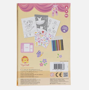 Tiger Tribe – Colouring Set – Ballet
