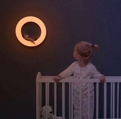 Zazu- Rechargeable Wall Light With Soft Toys