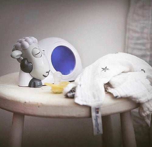 Zazu Alarm Clock & Nightlight- Sam the Sleeptrainer
