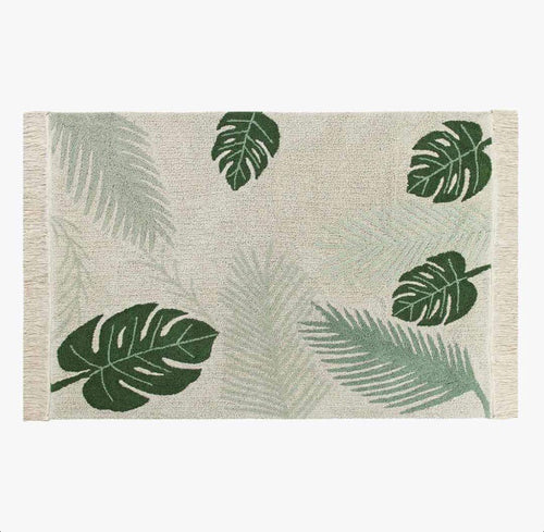Lorena Canal- Tropical Green Rug