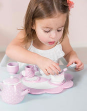 Little Dutch- Toy Wooden Tea Set - Pink