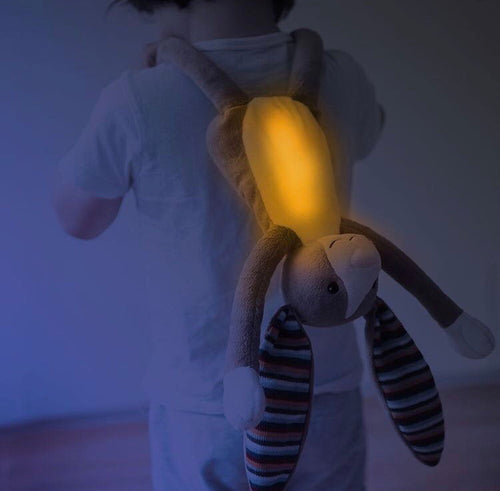 Zazu Nightlight Plush Toy - Bo the Bunny