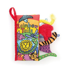 Jellycat- Rainbow Tails Book