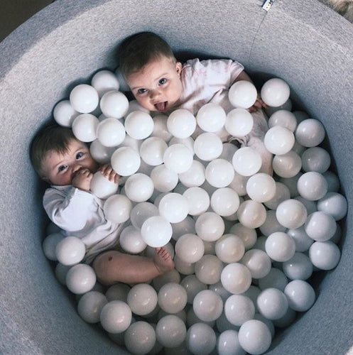 Grey Ball Pond & Balls