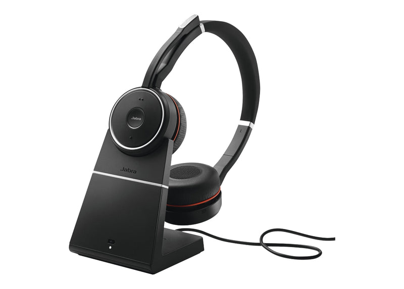 Jabra Evolve 75 UC Wireless Headset with Charging Stand