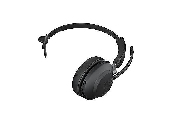 Jabra Evolve2 65 Mono USB-A MS Headset - Black