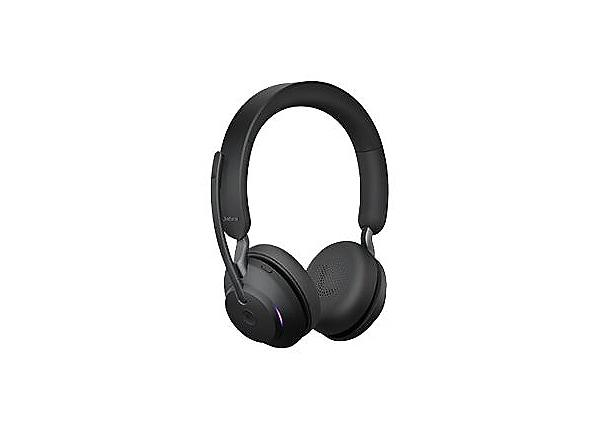 Jabra Evolve2 65 Stereo USB-A MS Headset - Black