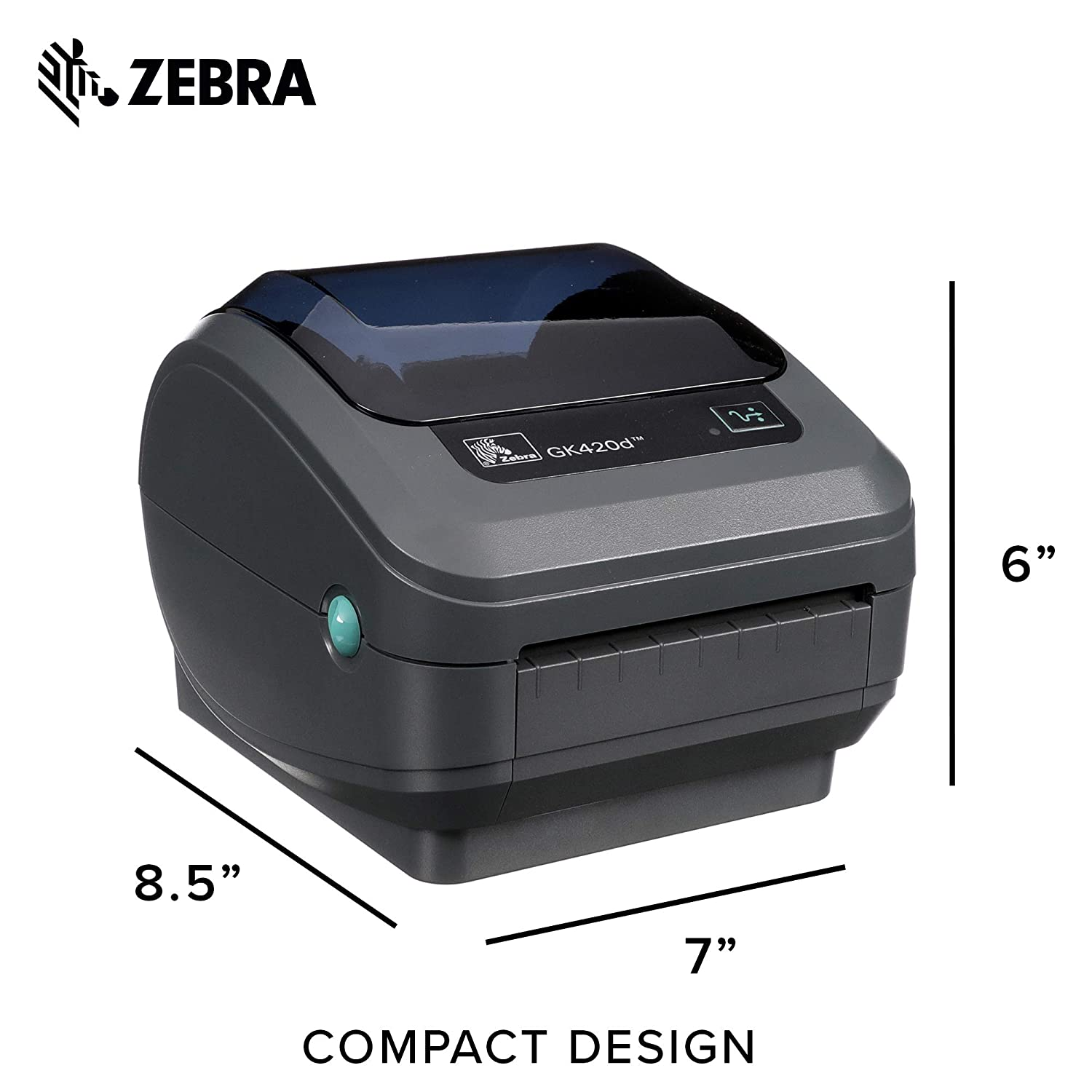 Zebra GK420d Direct Thermal Desktop Printer (GK42-202210-000)