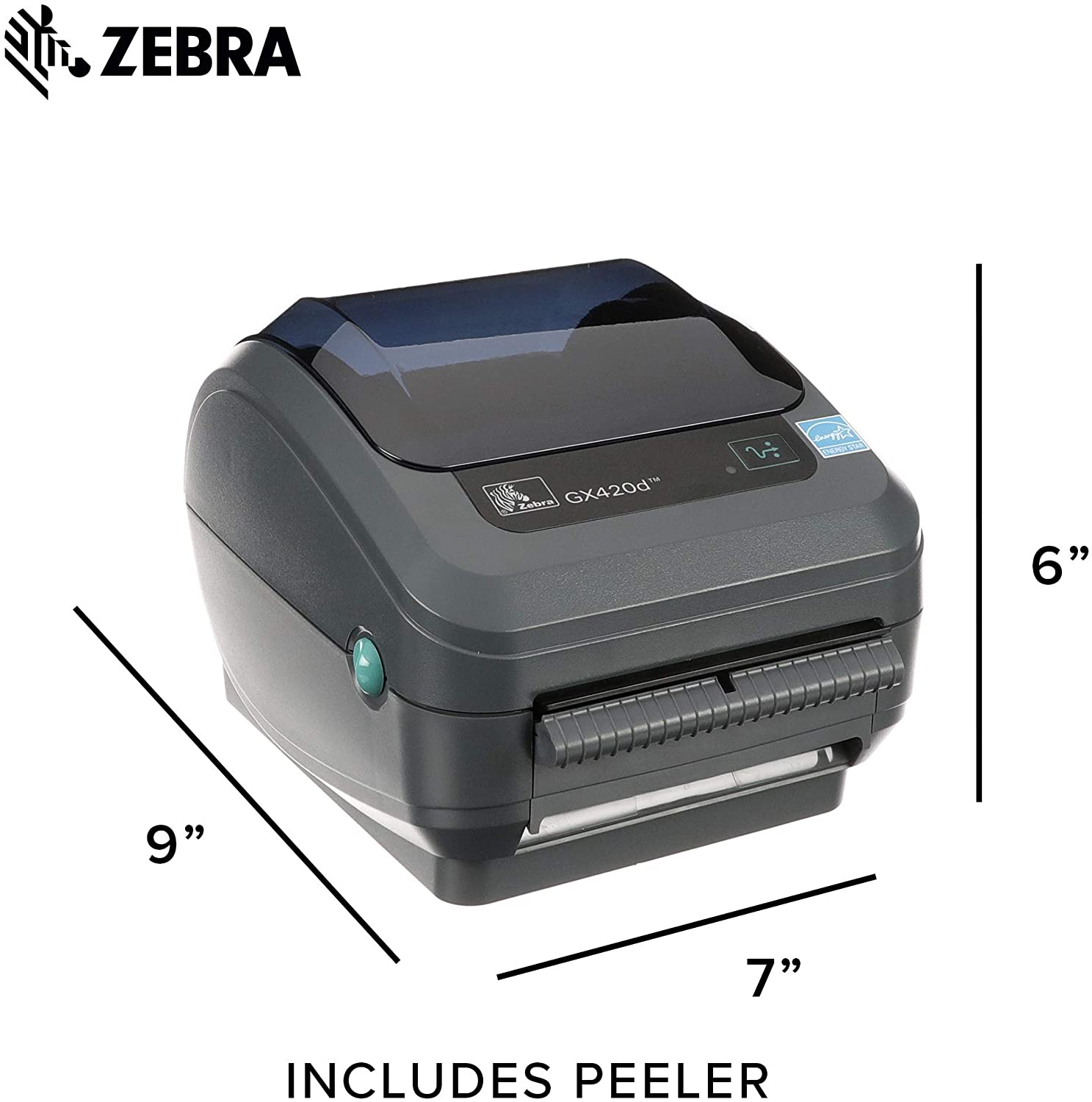 Zebra GX420d Direct Thermal Desktop Printer (GX42-202411-000)