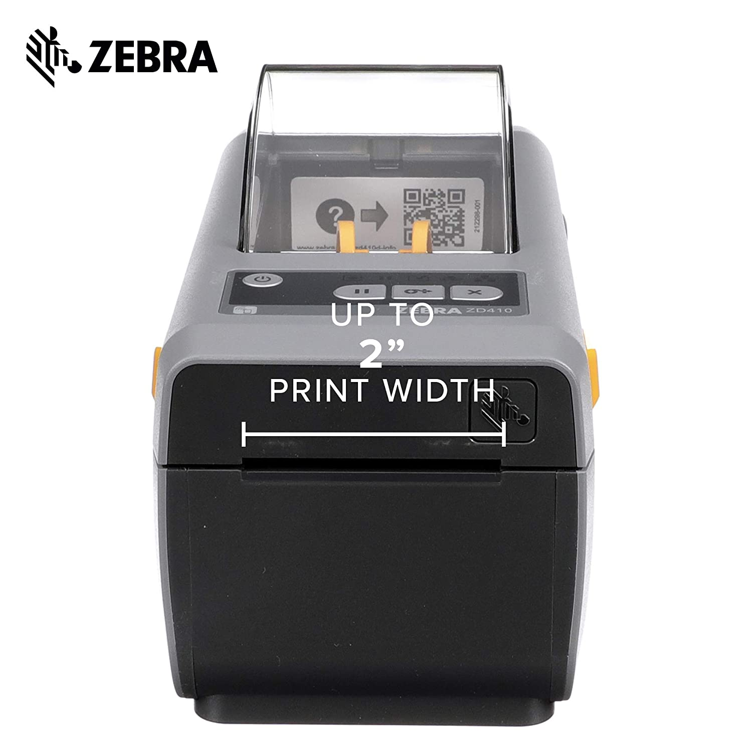Zebra ZD410 Direct Thermal Desktop Printer (ZD41022-D01000EZ)