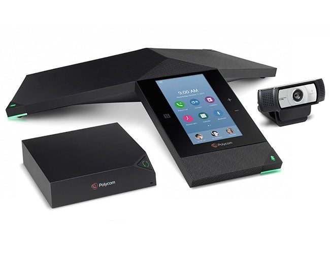 Polycom RealPresence Trio 8500 Collaboration Kit - video conferencing kit - with Trio Visual+, Logitech C930e