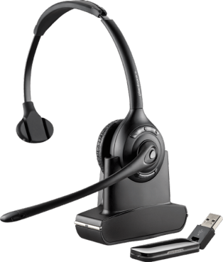 Plantronics Savi W410 Over-the-Head, Monaural