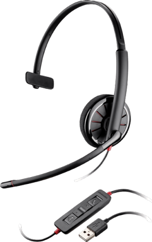 Plantronics Blackwire 310, Over-the-head, Monaural