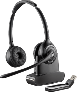 Plantronics Savi W420 Over-the-Head, Binaural