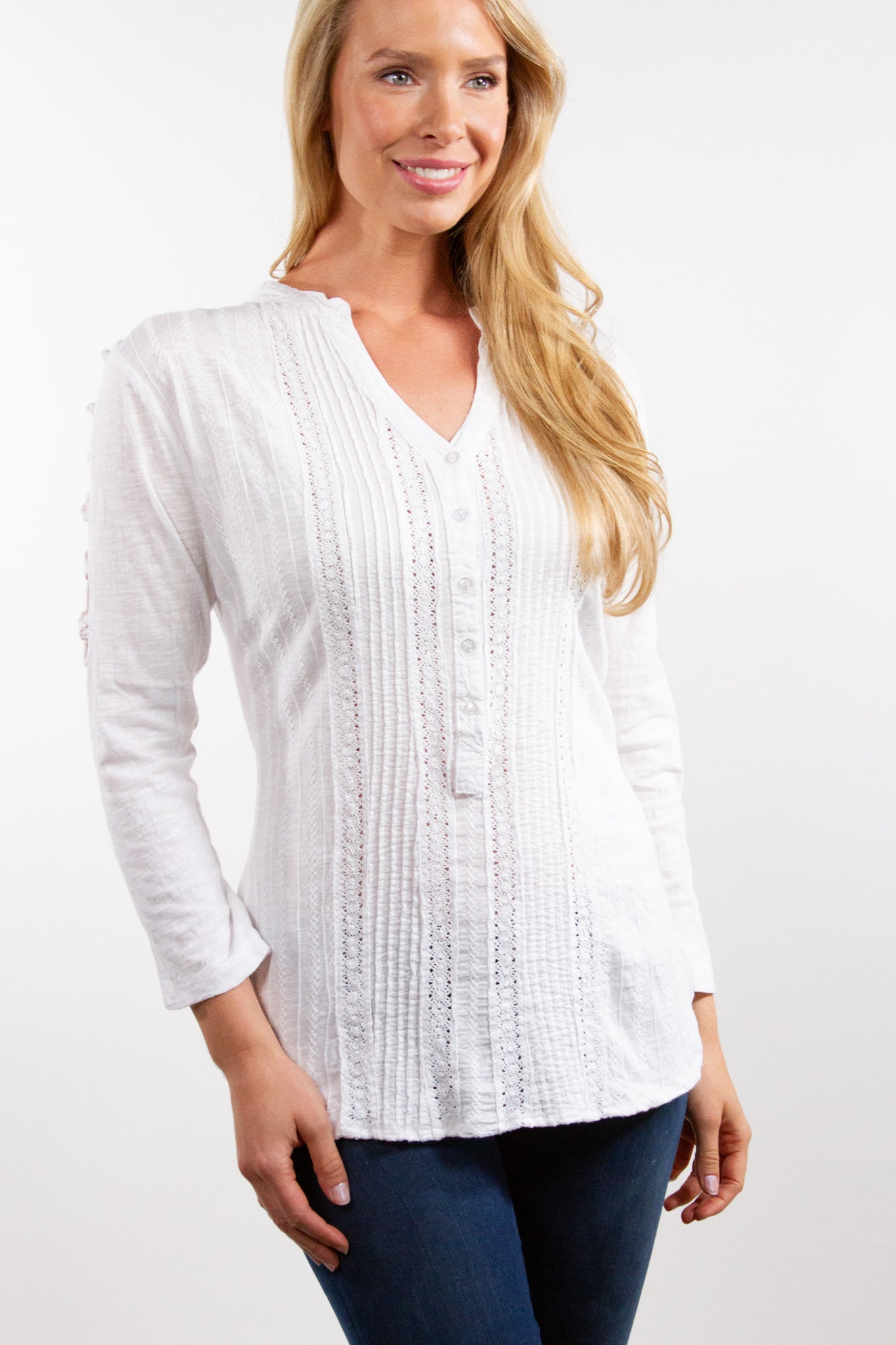 Kay - Cotton Blouse