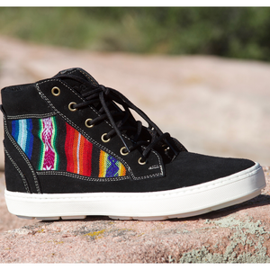 Suede High Top Black