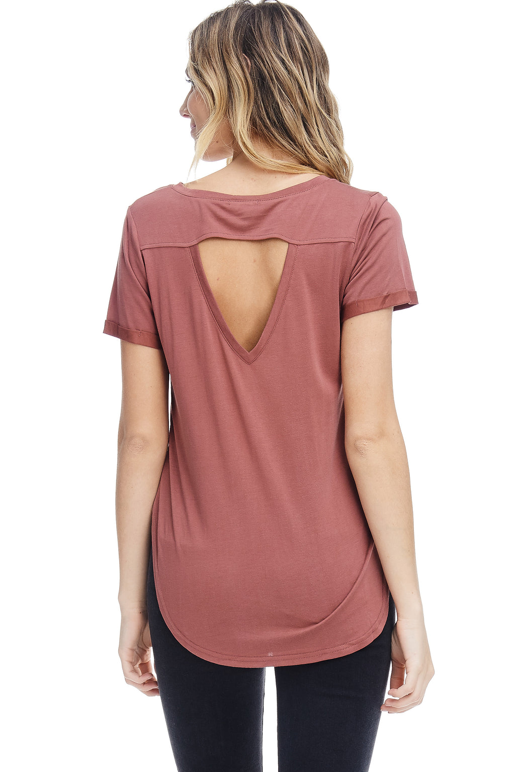 W18-110 Cut-Out Tee