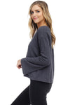 *Pre-Order* W18-208 Textured Braided Sweater