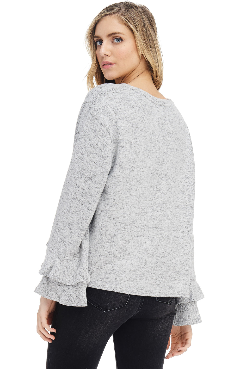 *Pre-Order* W18-267 Speckled Sweater