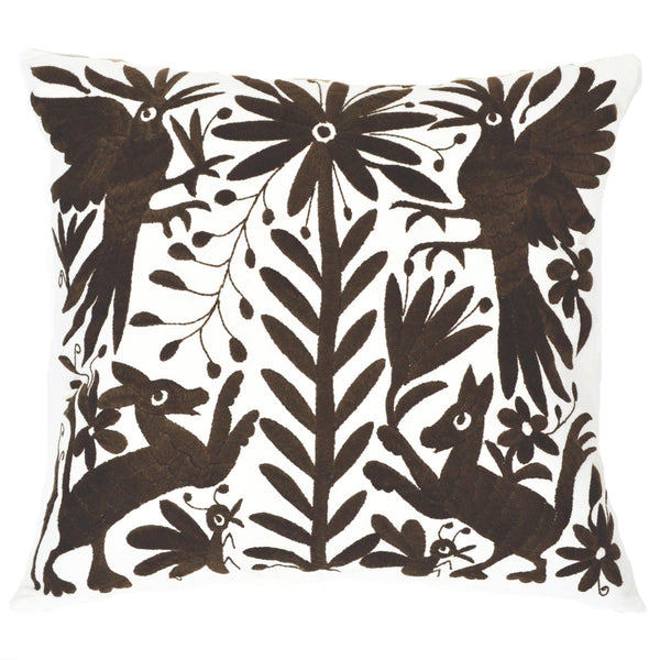 Brown-Otomi-Pillow