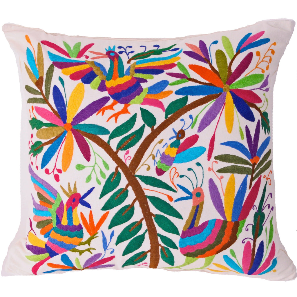 Multi-Color-Otomi-Pillow
