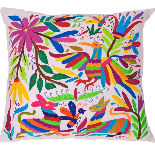 Otomi-Pillow-Mexican-Textile