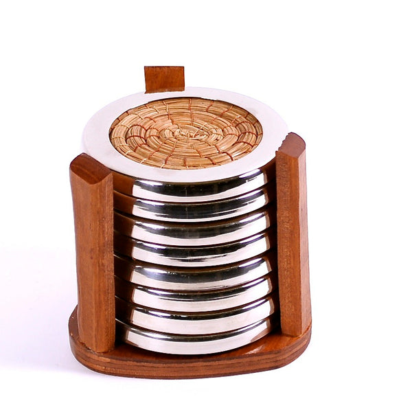 Pine Needle Coasters (Set of 8)