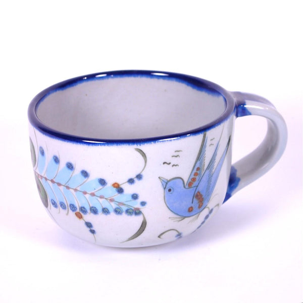 "Ken Edwards Traditional ""Blue"" Large Latte Cup"