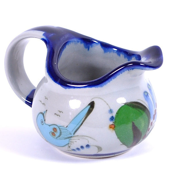 "Ken Edwards Traditional ""Blue"" Series Creamer"