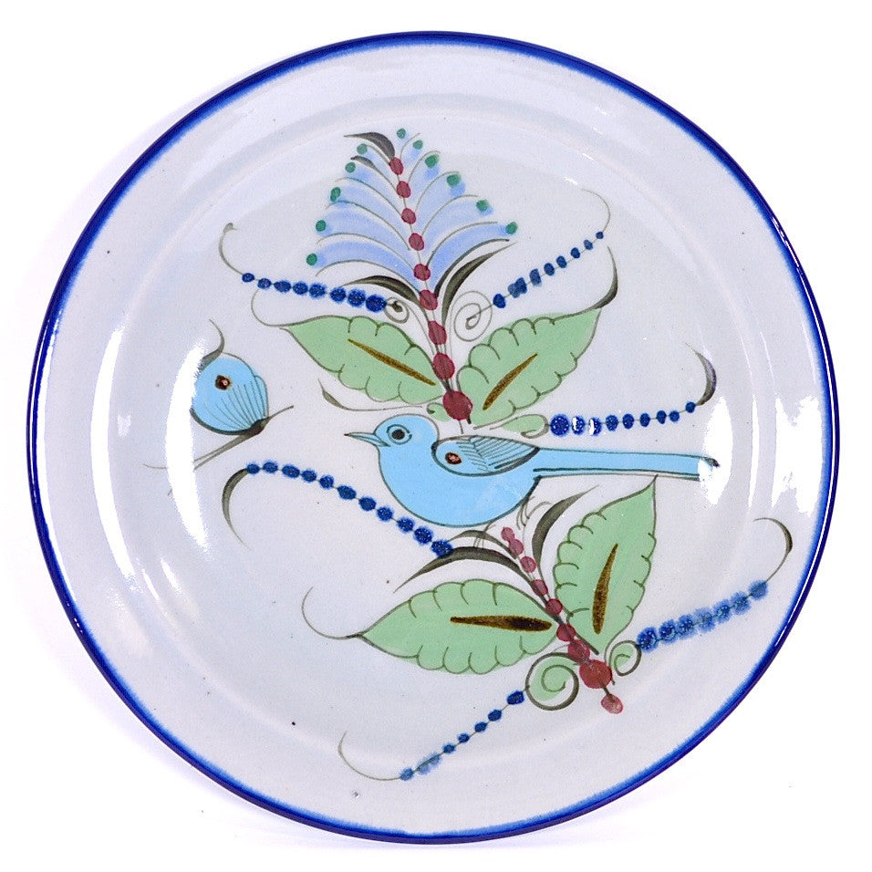 "Ken Edwards Traditional ""Blue"" Series Dinner Plate"
