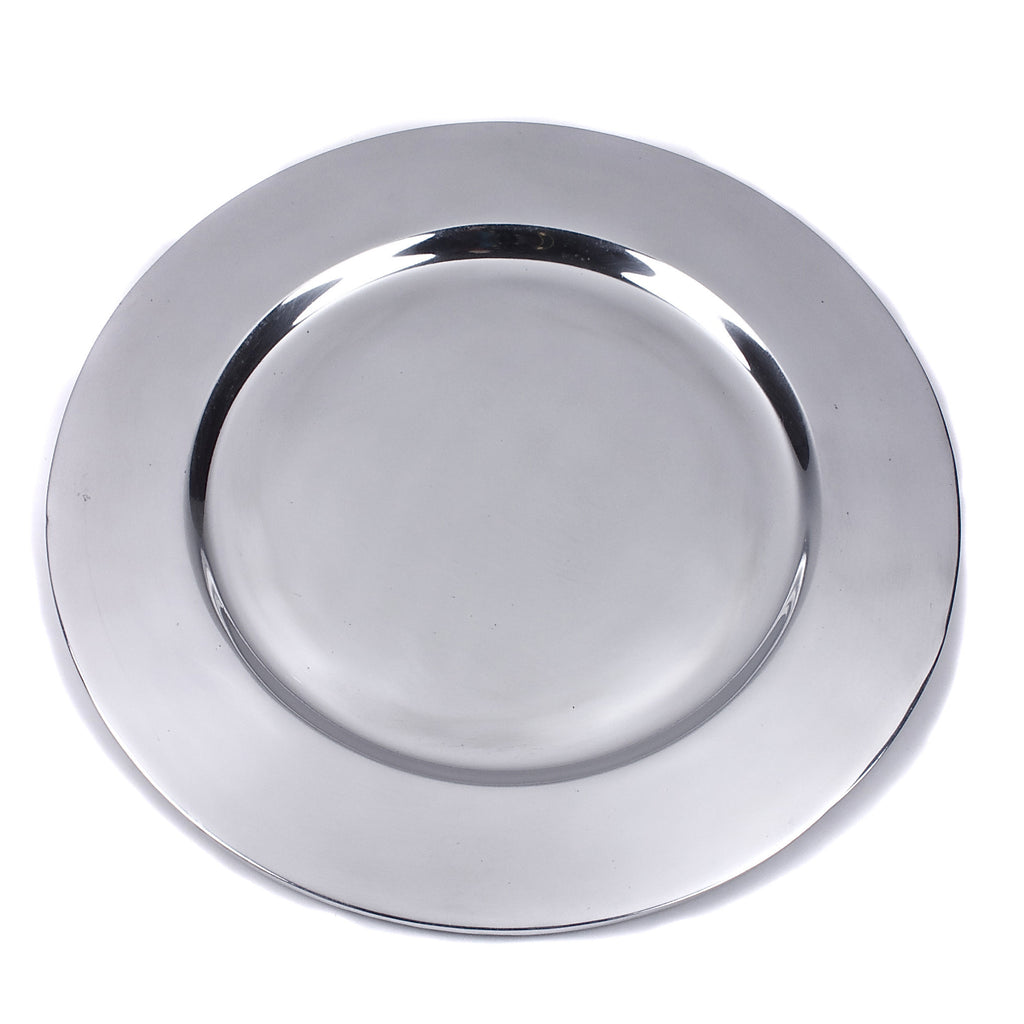 Mexican Pewter Classic Charger Plate