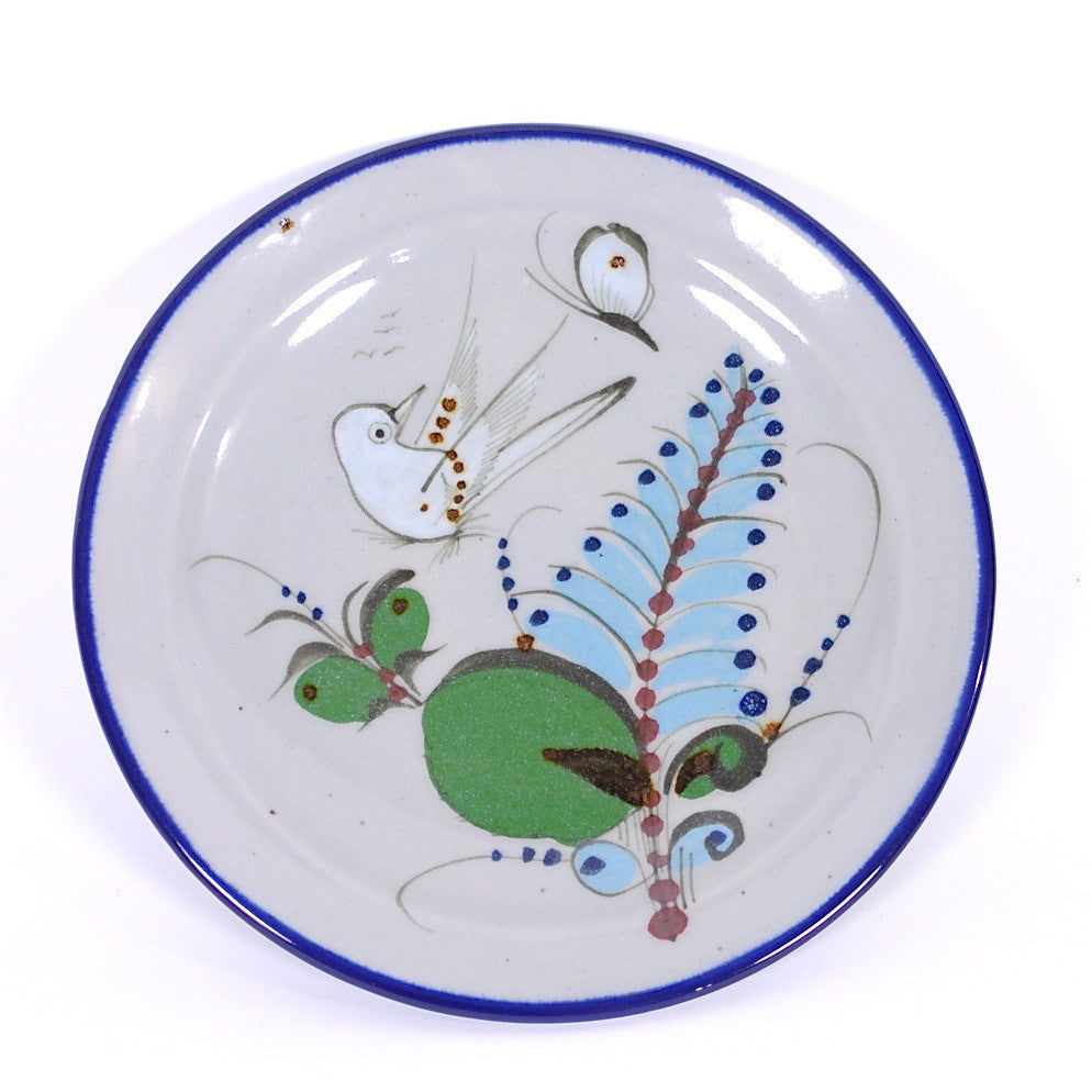 "Ken Edwards Traditional ""Blue"" Series Salad Plate"