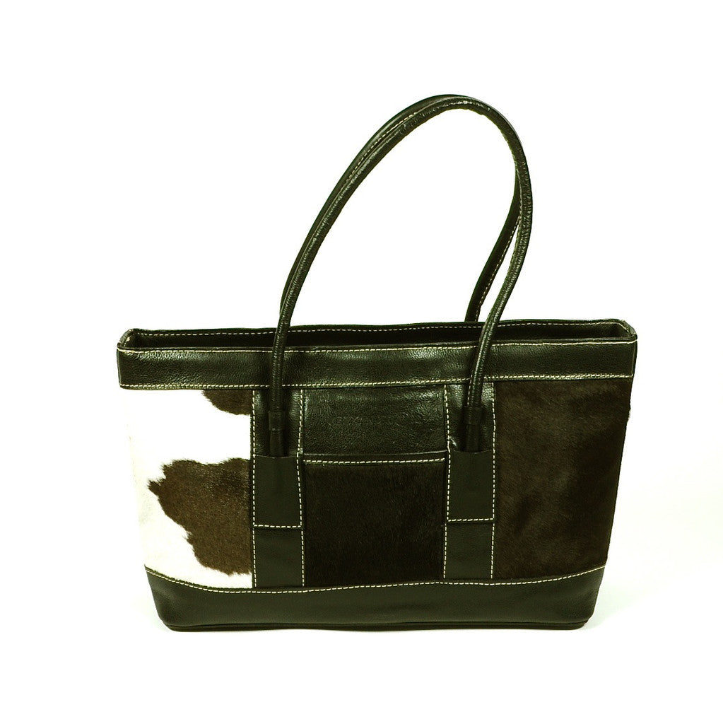 Leather Cowhide Handbag by Yeo Designs