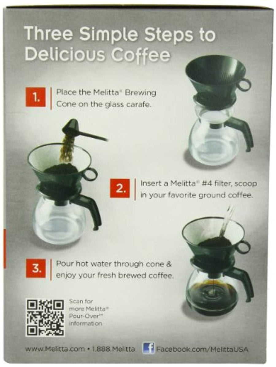 6 Cup Coffee Maker - Brewer with Glass Carafe