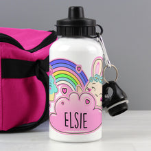 Load image into Gallery viewer, Personalised Cute Bunny Drinks Bottle