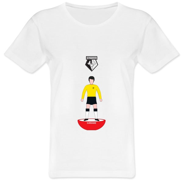 Watford FC Player Figure Ladies T-Shirt