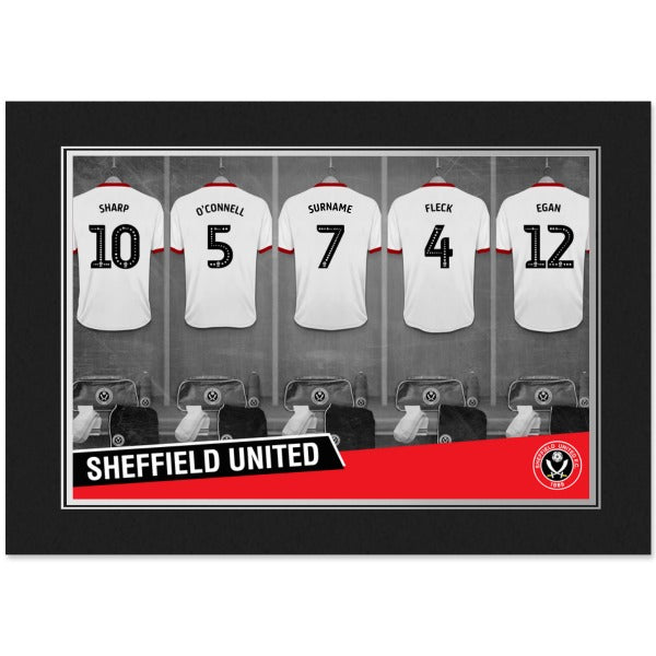 Sheffield United FC 9x6 Dressing Room Photo Folder