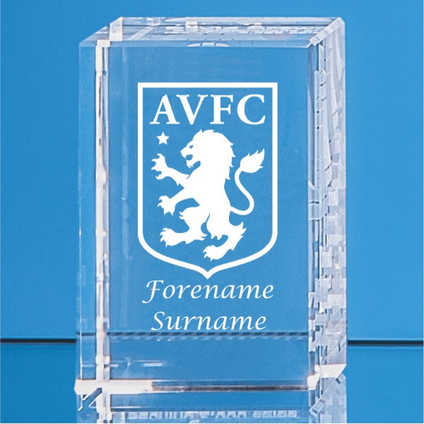 Aston Villa FC Crystal Rectangle