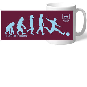 Burnley FC Evolution Mug