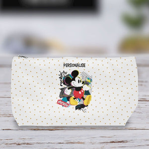 Disney Mickey Mouse Rockin' It Personalised Wash Bag