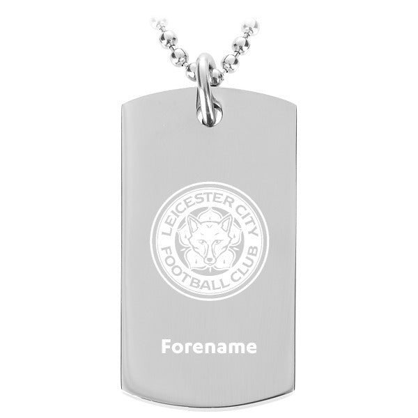 Leicester City FC Crest Dog Tag Pendant