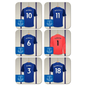 Everton FC Goalkeeper Dressing Room Coasters